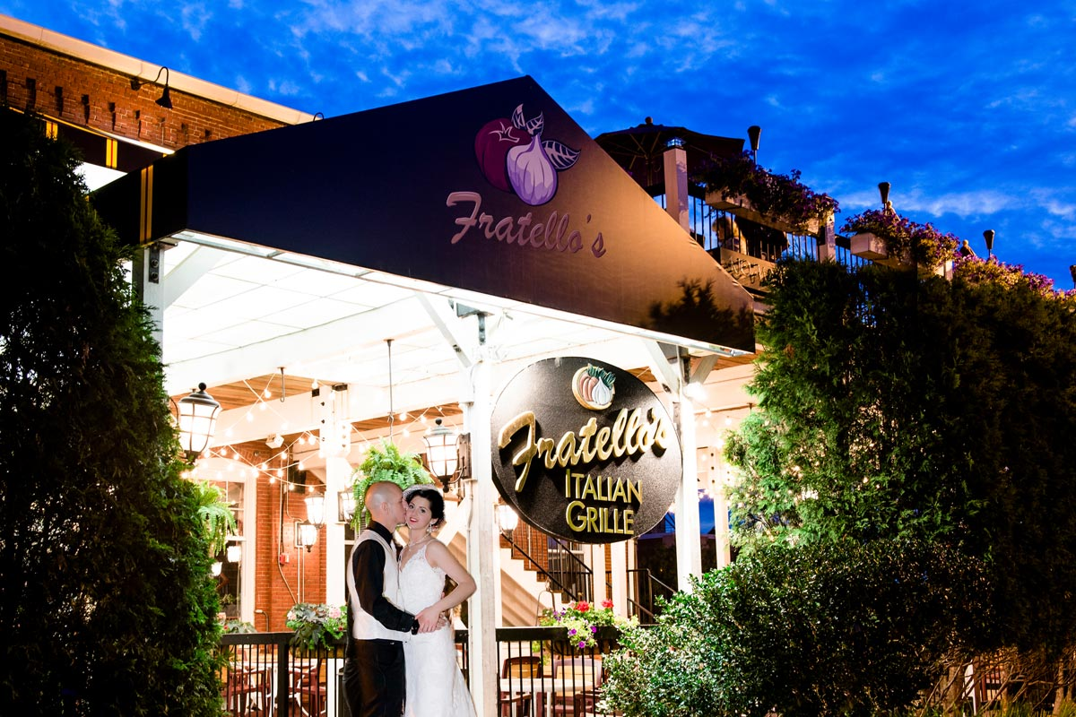 Fratello's Wedding Night Shot