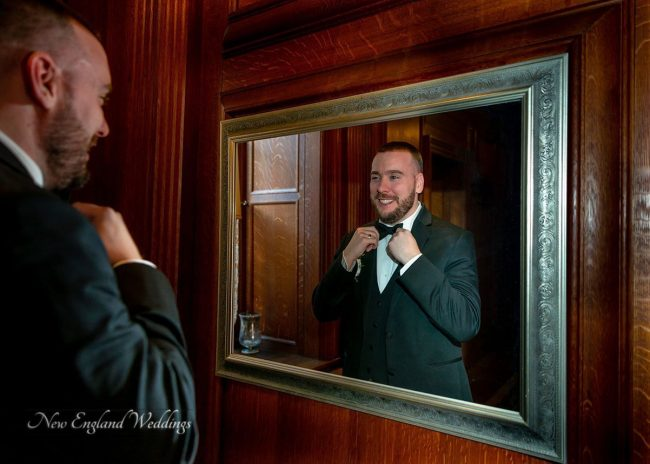Searles Castle Wedding Groom