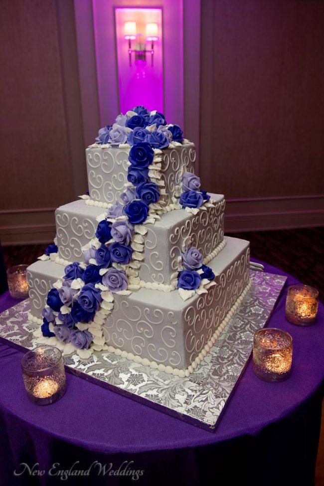 Lombardo's Wedding Reception Cake