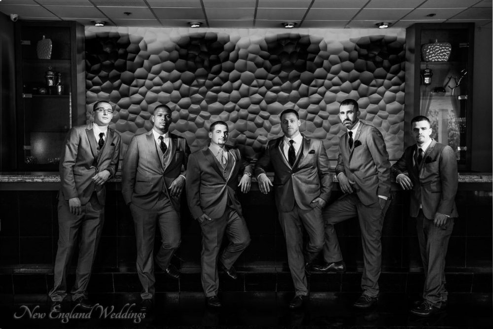 Lombardo's Groomsman Wedding Portrait