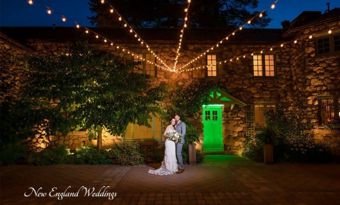 Willowdale Estate Wedding Night Shot