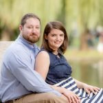 Engagement Photos in Boston Gardens & Seaport